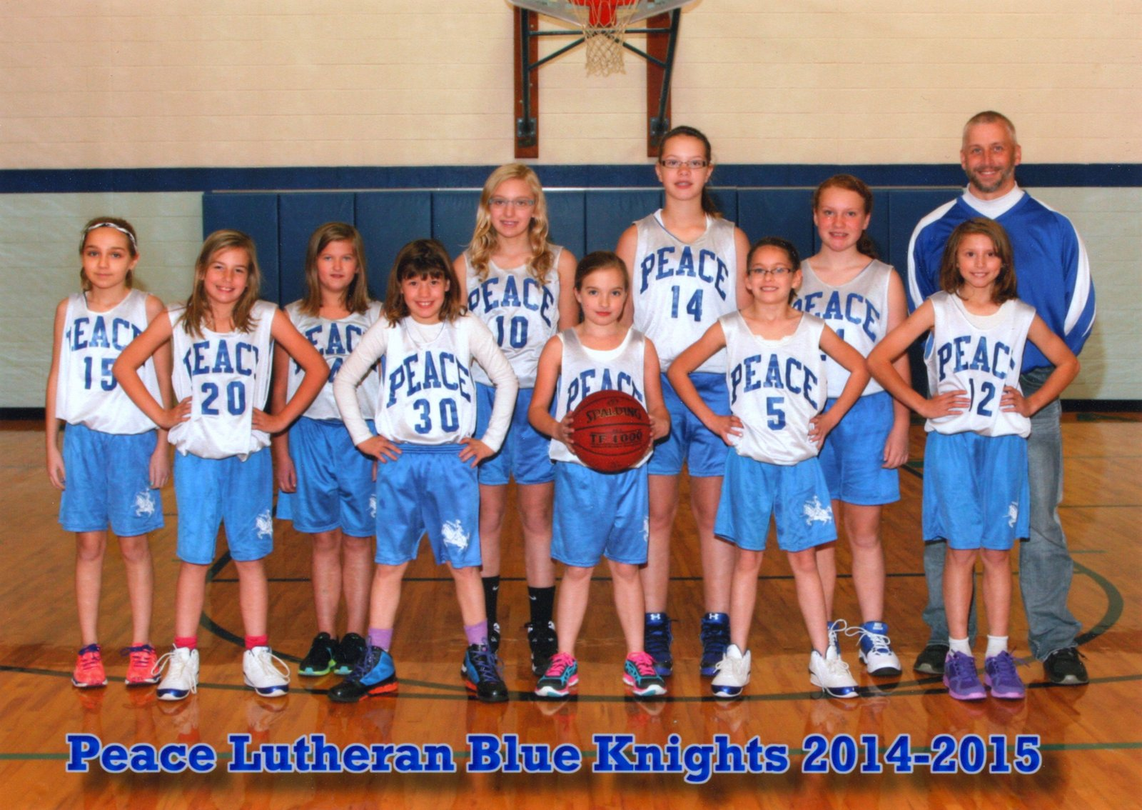 B Girls Basketball